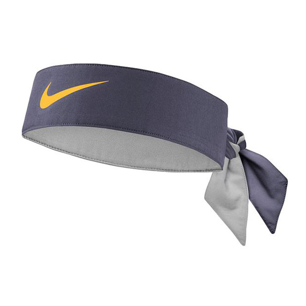 [나이키 테니스 헤드밴드] Nike Tennis Headband - Thunder Grey w/Laser Orange