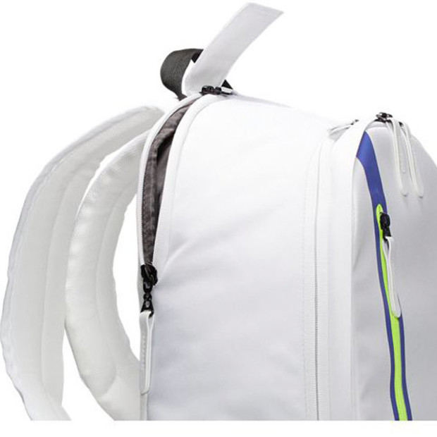 [나이키 코트 어드밴티지 테니스 백팩]NIKE Court Advantage Tennis Backpack - White and Black