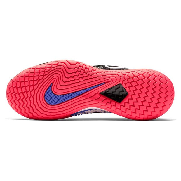 [나이키 여성용 에어 줌 베이퍼 케이지 4 테니스화] NIKE Women`s Air Zoom Vapor Cage 4 Tennis Shoes - Black and Laser Crimson