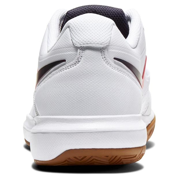 [나이키 남성용 에어 줌 프레스티지 테니스화] NIKE Men`s Air Zoom Prestige Tennis Shoes - White and Laser Crimson