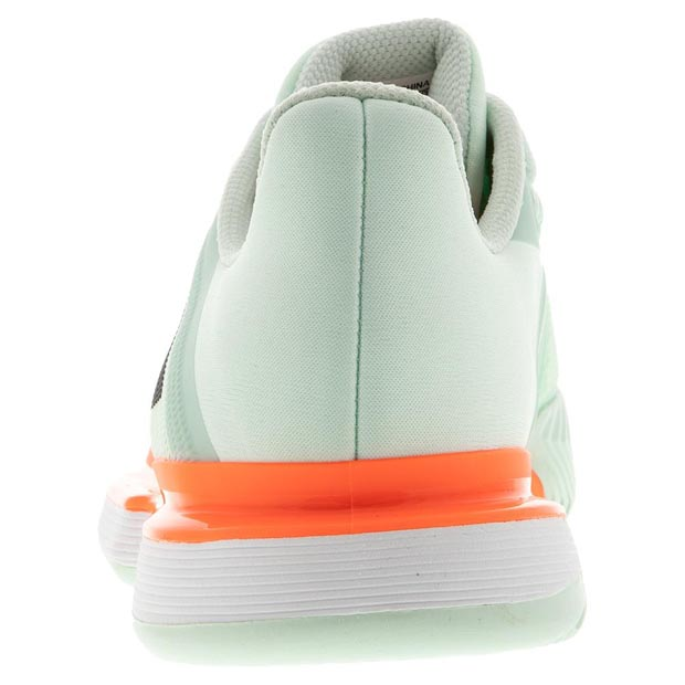 [아디다스 남성용 솔매치 바운스 테니스화] Adidas Men`s SoleMatch Bounce Tennis Shoes - Dash Green and Core Black