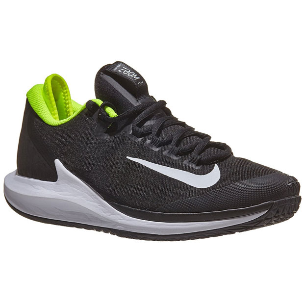 [나이키 남성용 코트 에어 줌 제로 테니스화] NIKE Men`s Court Air Zoom Zero Tennis Shoes - Black and White