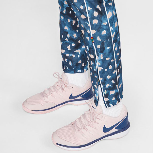 [나이키 여성용 멜버른 팀 코트 테니스 바지] NIKE Women`s Melbourne Team Court Tennis Pant - Valerian Blue