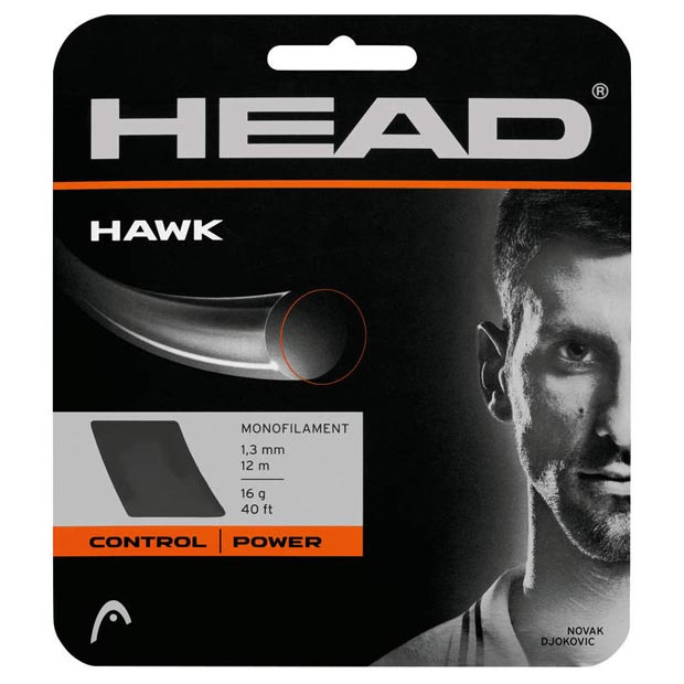 [헤드 Hawk 1.25mm 테니스 스트링] Head Hawk 17g Tennis String