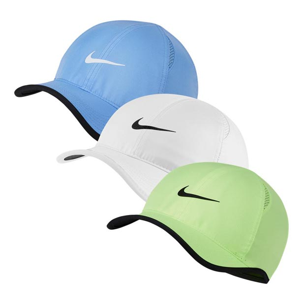 [나이키 남성용 페더라이트 테니스 모자] NIKE Men`s Featherlight Tennis Cap - Royal Pulse w/ White