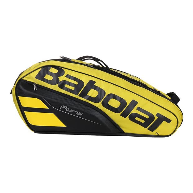 [바볼랏 테니스가방 퓨어 3단 RH12] Babolat Pure 12 Pack Tennis Bag - Yellow Black