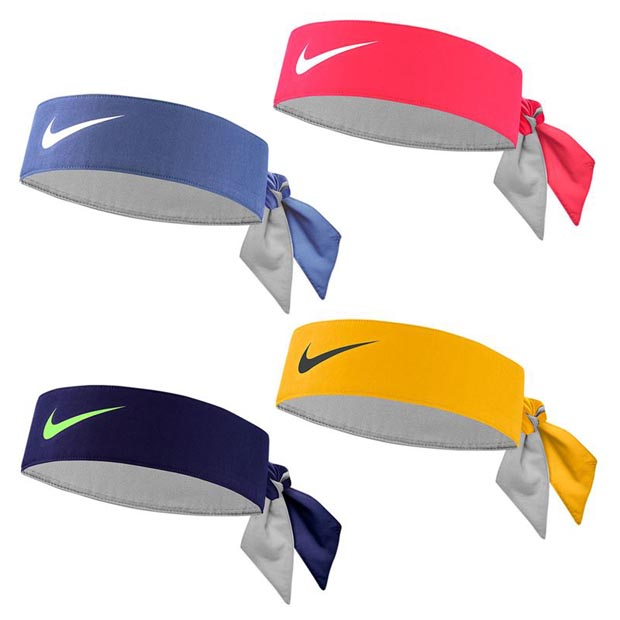 [나이키 테니스 헤드밴드] Nike Tennis Headband - Laser Crimson/White