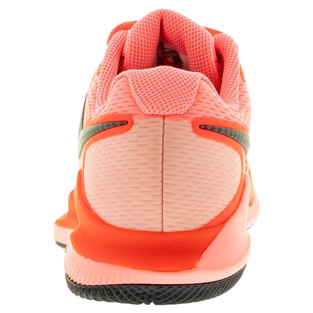 [나이키 여성용 에어 줌 베이퍼 X 테니스화] NIKE Women`s Air Zoom Vapor X Tennis Shoes - Laser Crimson and Pink