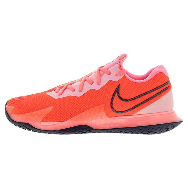[나이키 여성용 에어 줌 베이퍼 케이지 4 테니스화] NIKE Women`s Air Zoom Vapor Cage 4 Tennis Shoes - Laser Crimson and Pink