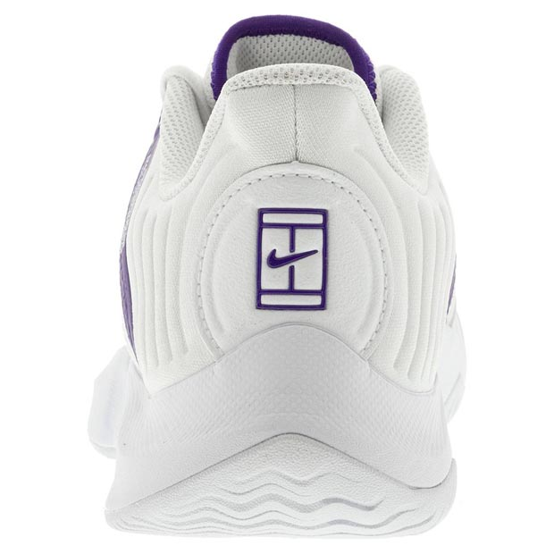 [나이키 남성용 코트 에어 줌 GP 터보 테니스화] NIKE Men`s Court Air Zoom GP Turbo Tennis Shoes - White and Court Purple