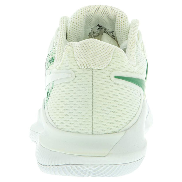 [나이키 여성용 에어 줌 베이퍼 X 테니스화] NIKE Women`s Air Zoom Vapor X Tennis Shoes - White and Clover