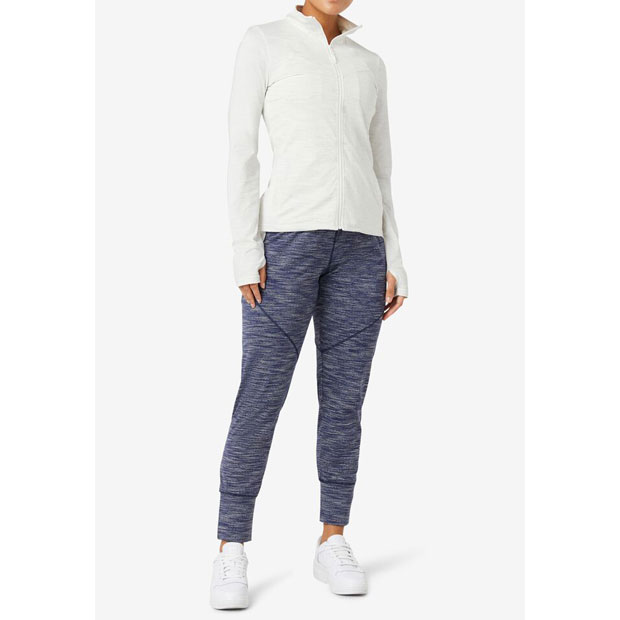 [휠라 여성용 Back Court 테니스 바지] FILA Women`s Back Court Pant - Marlin Heather
