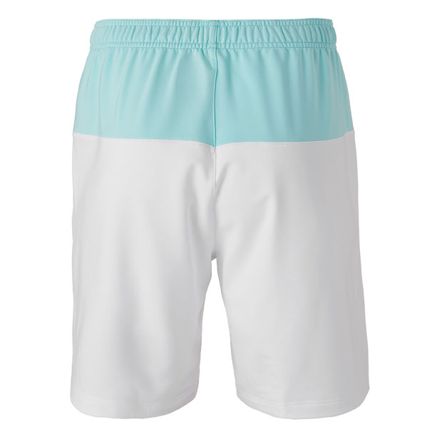 [휠라 남성용 Legends 테니스 반바지] FILA Men`s Legends Tennis Short - White and Paradise