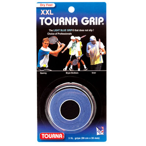 [투나 그립 3 팩 XXL] Tourna Grip Blue 3 Pack XXL