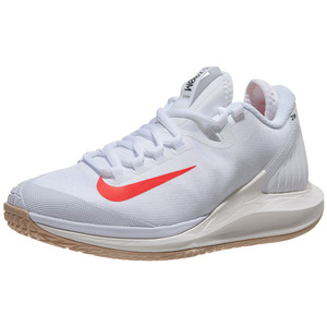 ba9bc76fc6a  나이키 여성용 코트 에어 줌 제로 테니스화 NIKE Women`s Court Air Zoom Zero Tennis Shoes -  White and Bright Crimson 품절