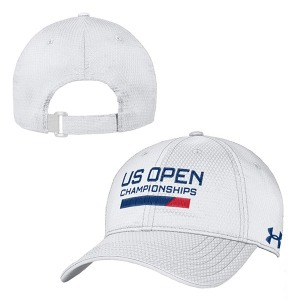 [언더아머 남성용 US오픈챔피언십 테니스 모자] US Open Under Armour Championships Men's Cap - White Navy Red