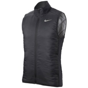 나이키 남성용 에어로레이어 러닝 베스트 Large only, NIKE Men`s Aerolayer Running Vest - Dark Sky Grey