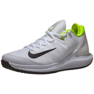 [나이키 남성용 코트 에어 줌 제로 테니스화] NIKE Men`s Court Air Zoom Zero Tennis Shoes - White and Black
