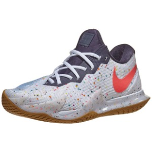 [나이키 남성용 에어 줌 베이퍼 케이지 4 테니스화] NIKE Men`s Air Zoom Vapor Cage 4 Tennis Shoes - White and Laser Crimson