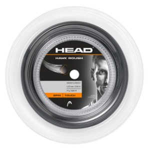 [헤드 Hawk Rough 1.25 mm 릴 테니스 스트링] Head Hawk Rough 17g Reel Tennis String