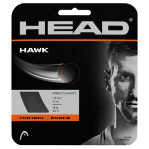 [헤드 Hawk 1.30mm 테니스 스트링] Head Hawk 16g Tennis String