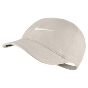 [나이키 여성용 페더라이트 테니스 캡] NIKE Women`s Featherlight Tennis Cap - Light Orewood Brown
