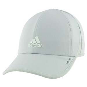 [아디다스 여성용 슈퍼라이트 테니스 모자] Adidas Women's SuperLite Tennis Hat - Green Tint w/Dash Greene