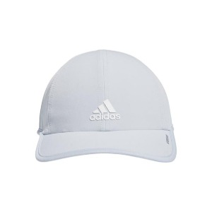 [아디다스 여성용 슈퍼라이트 테니스 모자] Adidas Women's SuperLite Tennis Hat - Halo Blue and White